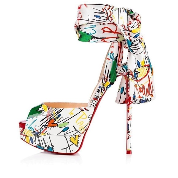 8bcf3a4c19bb Christian Louboutin Shoes - Christian Louboutin Jersey Vamp Loubitag Size 38
